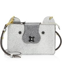Anya Hindmarch - Small Husky Leather Crossbody Pouch - Lyst