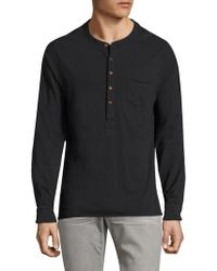 Joe's - Long Sleeve Henley - Lyst