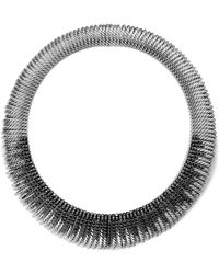 David Yurman - Tempo Collar Necklace With Black Spinel - Lyst