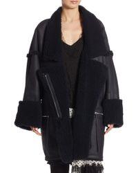 Zimmermann - Riot Oversized Leather Jacket - Lyst