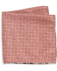 Saks Fifth Avenue | Double-faced Pocket Square | Lyst