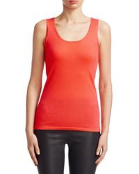 Saks Fifth Avenue - Collection Featherweight Cashmere Shell - Lyst