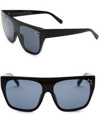 Stella McCartney - Monochrome Square Sunglasses - Lyst