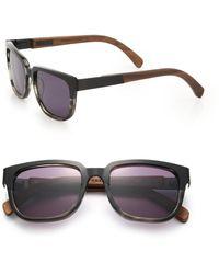 Shwood - Prescott 52mm Rectangular Sunglasses - Lyst