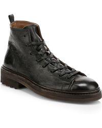 John Varvatos - Essex Trooper Boots - Lyst