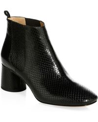 Marc Jacobs - Rocket Embossed Leather Chelsea Boots - Lyst