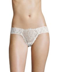 Hanky Panky - After Midnight Wink Diamond Thong - Lyst