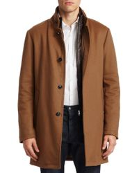 Saks Fifth Avenue - Collection Cashmere & Wool Topcoat - Lyst