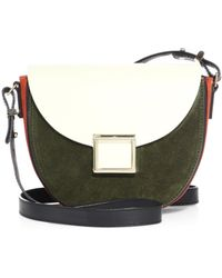 Jason Wu - Mini Jaime Two-tone Leather Saddle Bag - Lyst