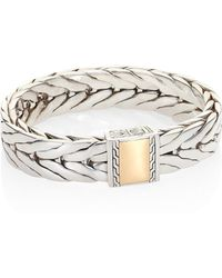 John Hardy - Classic Chain Collection Sterling Silver Link Bracelet - Lyst