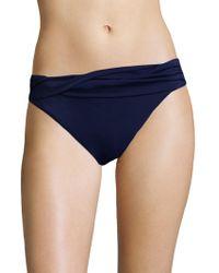 Shoshanna - Wrap Band Bikini Bottom - Lyst