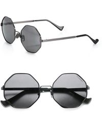 Cutler & Gross - 51mm Octagon Sunglasses - Lyst