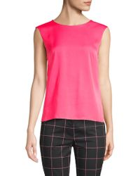 MILLY - Charlie Tank Top - Lyst