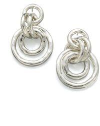 Ippolita - Glamazon Sterling Silver Mini Jet Set Drop Earrings - Lyst