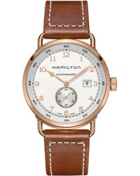 Hamilton - Pioneer Automatic Stainless Steel Watch - Lyst