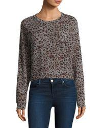 Stateside - Leopard-print Pullover - Lyst