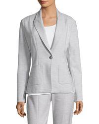St. John - Summer Bella Double Weave Jacket - Lyst