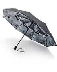Saks Fifth Avenue - Saks-printed Lining Umbrella - Lyst