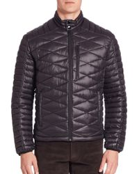 Saks Fifth Avenue - Modern Quilted Puffer Jacket - Lyst