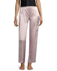 Natori - Silk Pants - Lyst