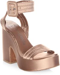 Pedro Garcia - Thora Wedge Sandals - Lyst