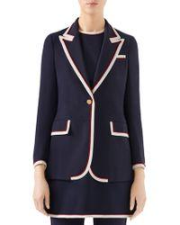 Gucci - Stretch Viscose Jacket - Lyst