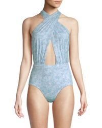 6 Shore Road By Pooja - Cabana Serenity Swimsuit - Lyst