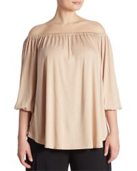Rachel Pally - Spring White Label Ayumi Off-the-shoulder Blouse - Lyst