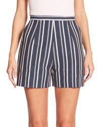 Stella Jean - Lupo Striped Shorts - Lyst
