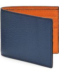 Saks Fifth Avenue - Colorblock Bi-fold Wallet - Lyst