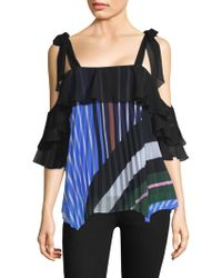 DELFI Collective - Lola Striped Top - Lyst