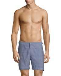 Orlebar Brown - Bulldog Chambray Shorts - Lyst
