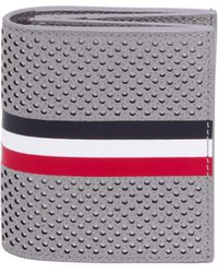 Thom Browne - Perforated Leather Card Case - Lyst