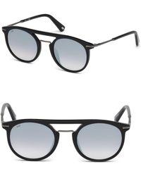 Web - 49mm Round Sunglasses - Lyst