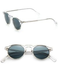 Oliver Peoples - Gregory Peck 47mm Acetate Sunglasses - Lyst