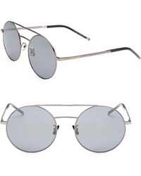 Saint Laurent - 56mm Aviator Sunglasses - Lyst