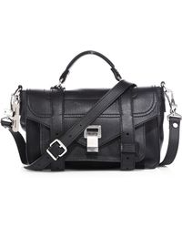 Proenza Schouler - Ps1+ Tiny Leather Satchel - Lyst