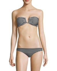 Mikoh Swimwear - Reunion Stripe Bikini Top - Lyst