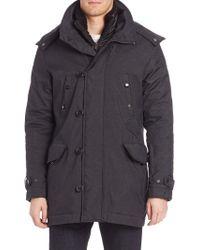 Tumi - Twill Textured Zip-front Jacket - Lyst