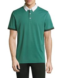 AG Green Label | Deuce Short-sleeve Polo | Lyst
