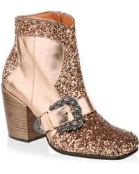 Coach Glitter Western Ankle Boots pNVK1CakP1