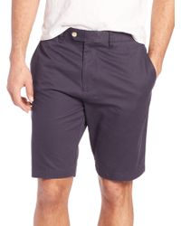 Saks Fifth Avenue - Solid Cotton Shorts - Lyst