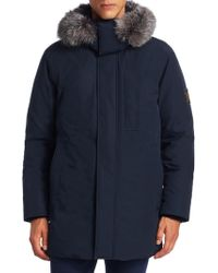 Madison Supply - Fox Fur-trim & Rabbit-lined Down Parka - Lyst