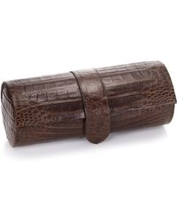 Santiago Gonzalez - Crocodile Watch Roll Case - Lyst