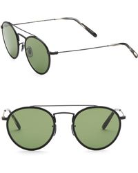 Oliver Peoples - Ellice 50mm Oval Sunglasses - Lyst