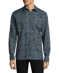 J.Lindeberg - Regular-fit Cotton Shirt - Lyst