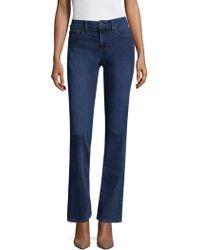 NYDJ - Five-pocket Straight Jeans - Lyst