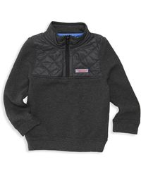 Vineyard Vines - Little Boy's & Boy's Quilted French Terry Shirt - Lyst