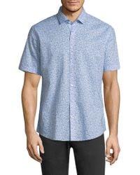 Zachary Prell - Defazio Cotton Shirt - Lyst