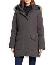 Canada Goose | Trillium Fur-trimmed Down Parka | Lyst